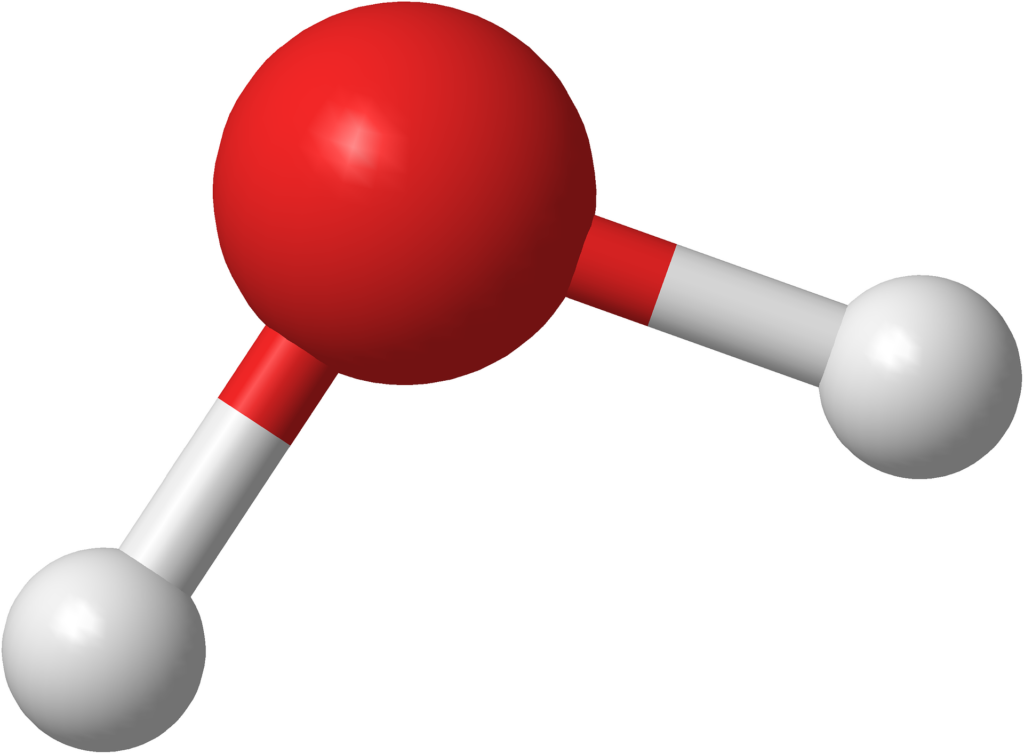 Water molecule.